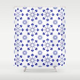 blue morrocan dream no2 Shower Curtain