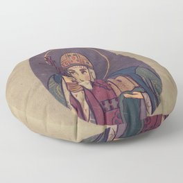 Olga of Kiev Floor Pillow