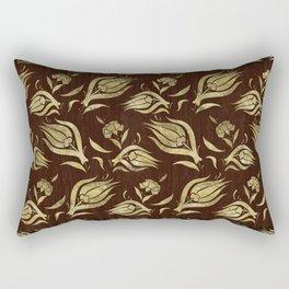 Turkish tulip pattern 6 Rectangular Pillow