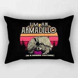 I am an armadillo (in a human costume Rectangular Pillow