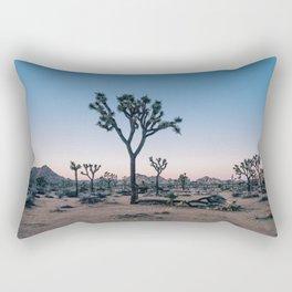 Joshua Tree at Sunset Rectangular Pillow
