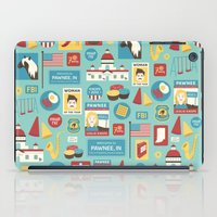 parks and recreation iPad Cases featuring Parks and Recreation by Kitkat Lastimosa