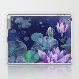 blue lake lilypads Laptop & iPad Skin