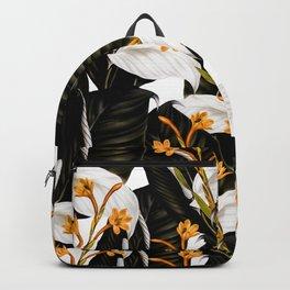 Flowering exotic botany Backpack
