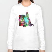 splatter Long Sleeve T-shirts featuring Paint splatter  by Sammycrafts