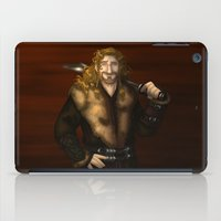fili iPad Cases featuring Fili in Red by wolfanita