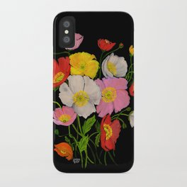 ICELANDIC POPPIES iPhone Case