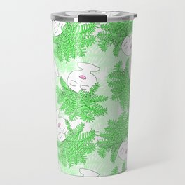 Fern-tastic Girls in Neon Green Travel Mug