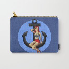 Anchor Girl Carry-All Pouch