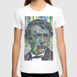 DAVID LIVINGSTONE watercolor and ink portrait T-shirt