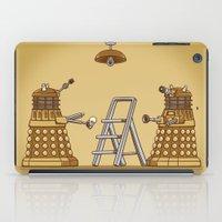 dalek iPad Cases featuring Dalek DIY by Doodle Dojo