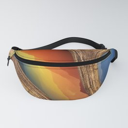 Mountain Mash Up Fanny Pack