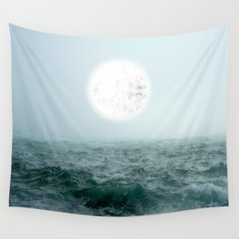 Pumped up Sea Wall Tapestry