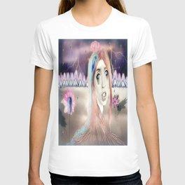Portrait Landscaped #3 T-shirt