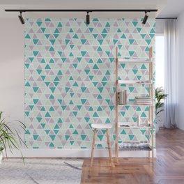 Geometrica poppy Wall Mural