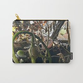 Tree growing in truck cab Carry-All Pouch