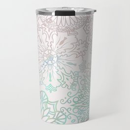Spring blooms mandala Travel Mug