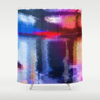 fabric Shower Curtains featuring Splat Fabric by Good Sense
