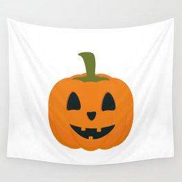 Classic Halloween pumpkin Wall Tapestry