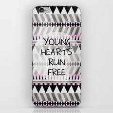 Young Hearts iPhone Skin