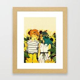 Huevember Day 3 - Uranus & Neptune Framed Art Print