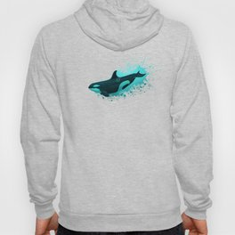 """""""Lost in Paradise"""" by Amber Marine ~ Killer Whale ~ Orca ~ Original Version ~ (Copyright 2015) Hoody"""