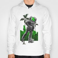 moscow Hoodies featuring Moscow Jungles by Tate Bacalao