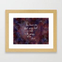 Every Last Star Framed Art Print
