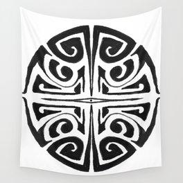 Tatouage rond, mandala, tatoo Wall Tapestry