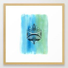 Geometric Prism 2 Framed Art Print