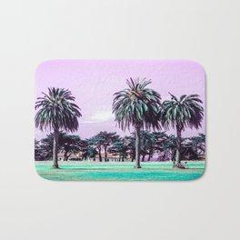 Three palm trees. Bath Mat