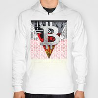 germany Hoodies featuring bitcoin germany by seb mcnulty