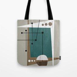 Mid Century Modern Print 45 Tote Bag