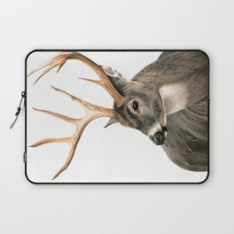 White-Tailed Buck Laptop Sleeve