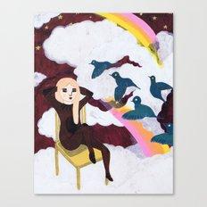 Girl of my dreams Canvas Print