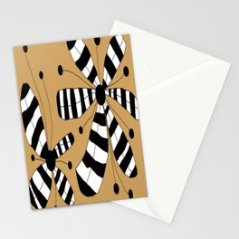 FLOWERY ZEBINA / ORIGINAL DANISH DESIGN bykazandholly Stationery Cards