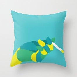 Ash you a question Throw Pillow