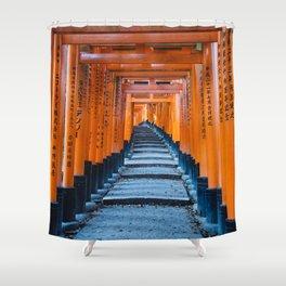 Fushimi Inari-taisha in Kyoto, Japan Shower Curtain