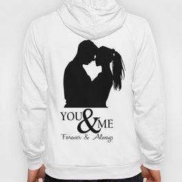 Couple T Shirts - You & me Hoody