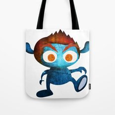 Mr. Blue Tote Bag