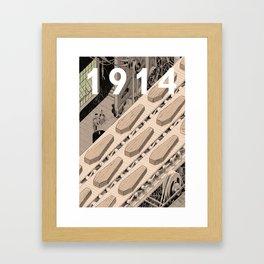 1914 Framed Art Print