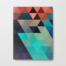 Cosmic abstract and colorful Metal Print