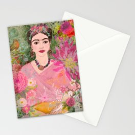 Frida Be Happy Stationery Cards