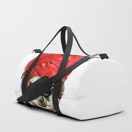 Red Turban Duffle Bag