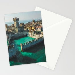 Catle in the water Stationery Cards