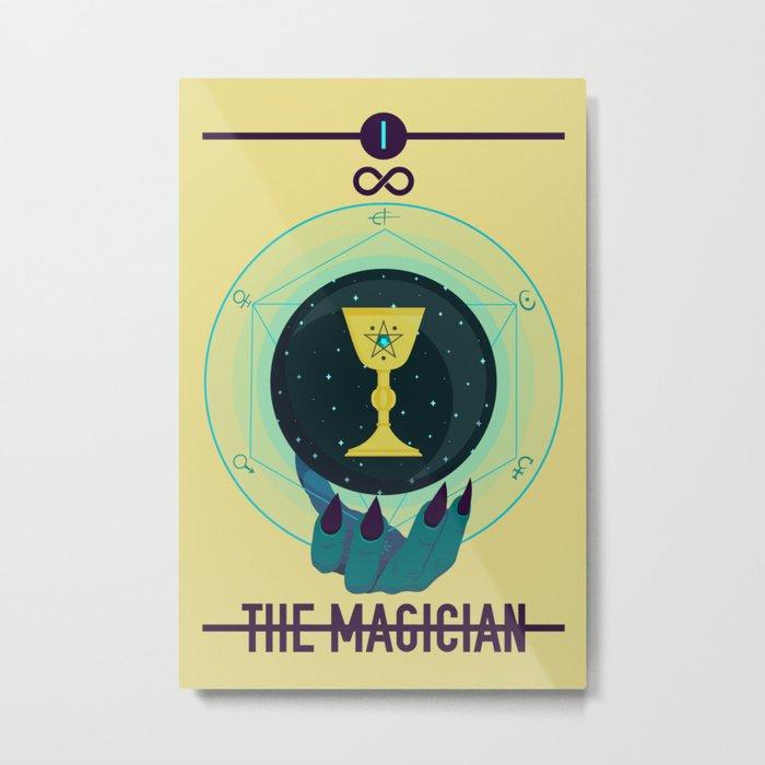THE MAGICIAN Metal Print
