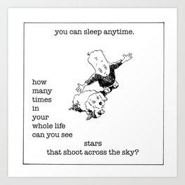 see stars! Art Print