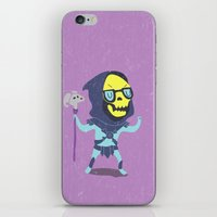 skeletor iPhone & iPod Skins featuring Skeletor by Rod Perich