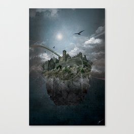 welcome to the castle Canvas Print