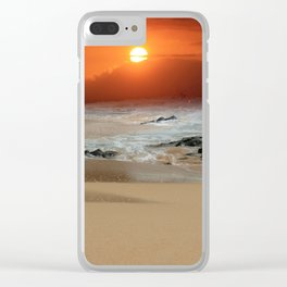 The Birth of the Island Clear iPhone Case